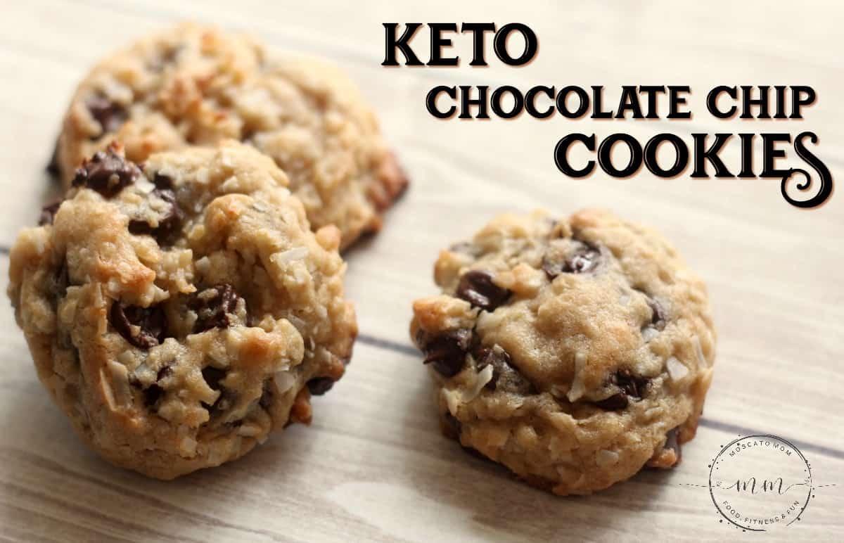 Easy Keto Chocolate Chip Cookies  Simple Keto Chocolate Chip Cookies Recipe