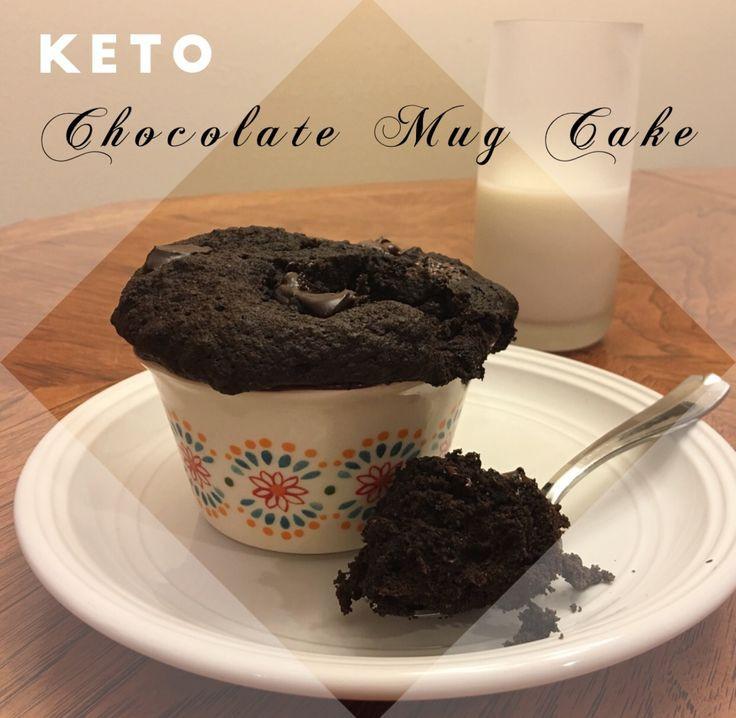 Easy Keto Mug Cake  Sugar free Gluten Free Keto Chocolate Mug Cake keto