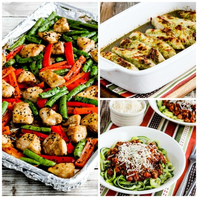 Easy Low Carb Dinner Recipes  My Favorite Quick and Easy Low Carb Dinners Kalyn s Kitchen