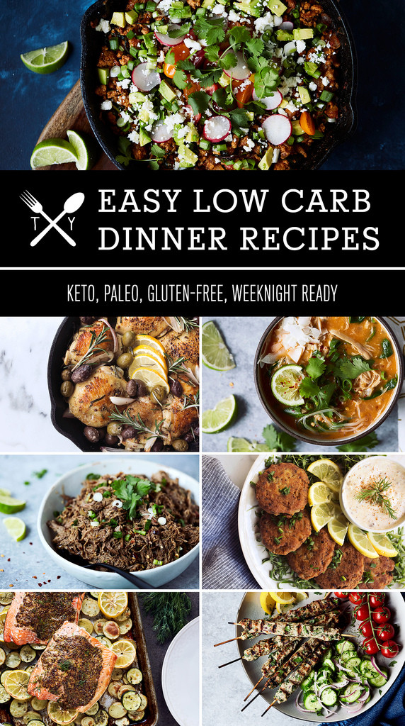 Easy Low Carb Dinner Recipes  70 Easy Low Carb Keto Dinner Recipes Tasty Yummies