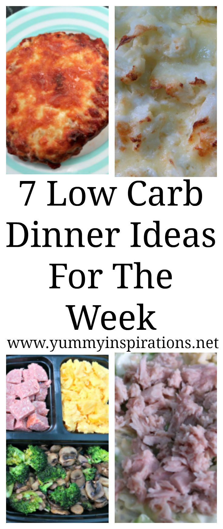 Easy Low Carb Dinner Recipes  7 Low Carb Dinner Ideas Easy Keto Dinner Meal Recipes