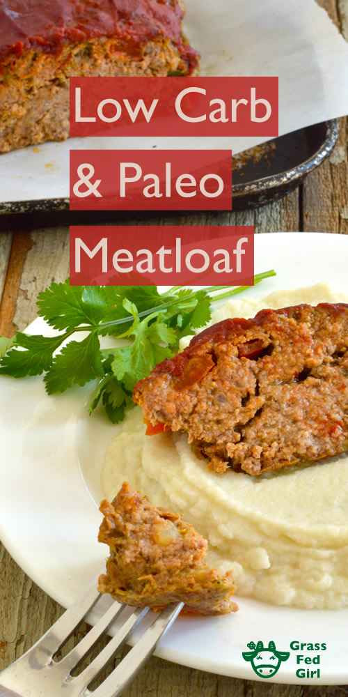 Easy Low Carb Meatloaf  Easy Low Carb and Paleo Meatloaf Recipe