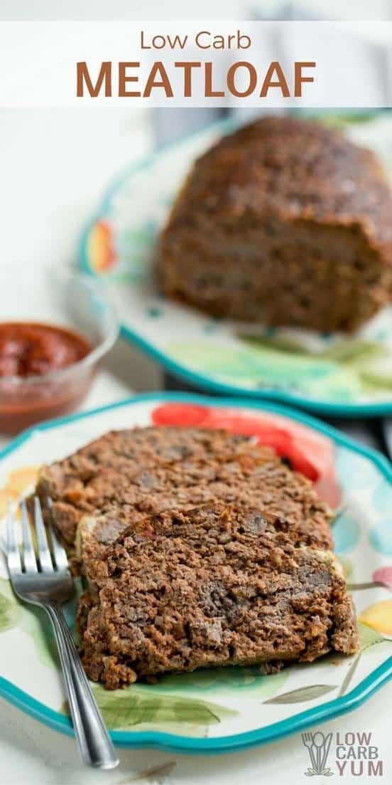 Easy Low Carb Meatloaf  Low Carb Meatloaf Recipe Gluten Free