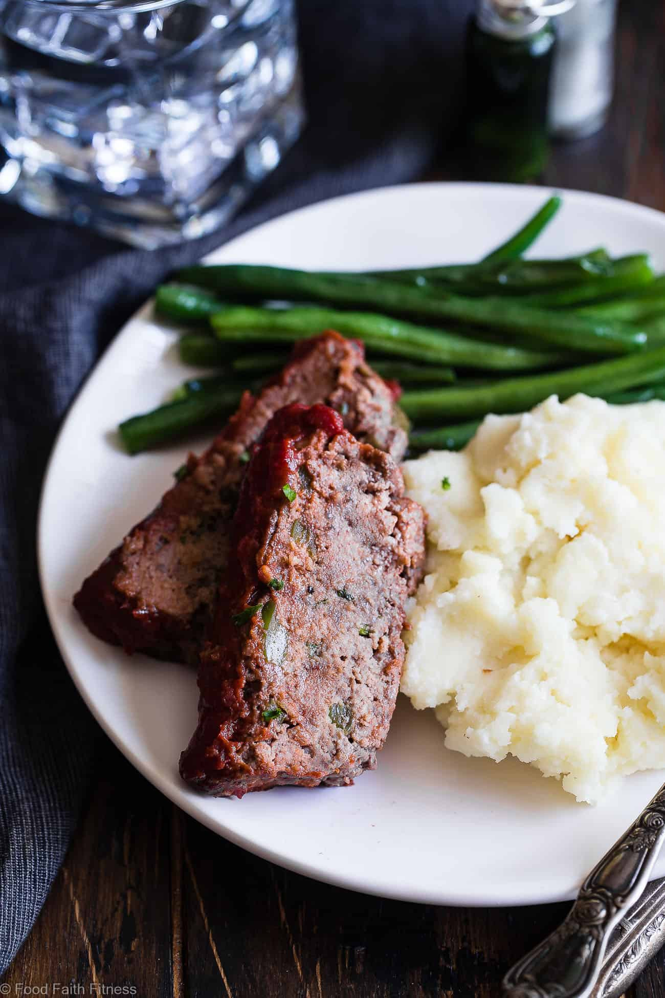 Easy Low Carb Meatloaf  Easy Low Carb Paleo Meatloaf