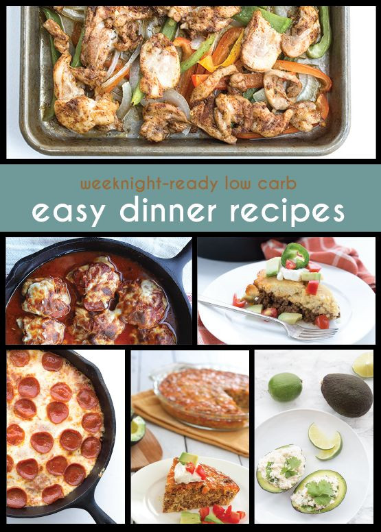 Easy Low Cholesterol Recipes For Dinner  1000 images about Food No Carb Low Carb No Sugar Diet
