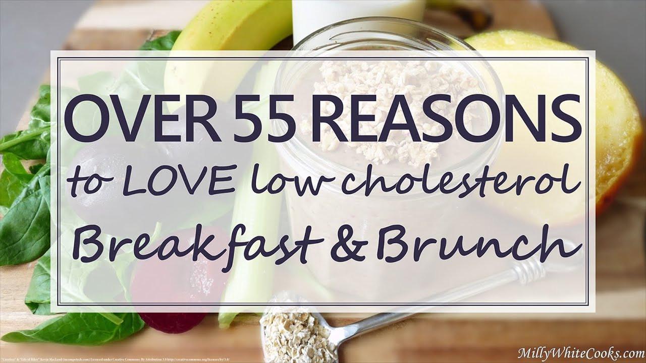 Easy Low Cholesterol Recipes  Healthy Brunch & Breakfast Eats Easy Low Fat & Low