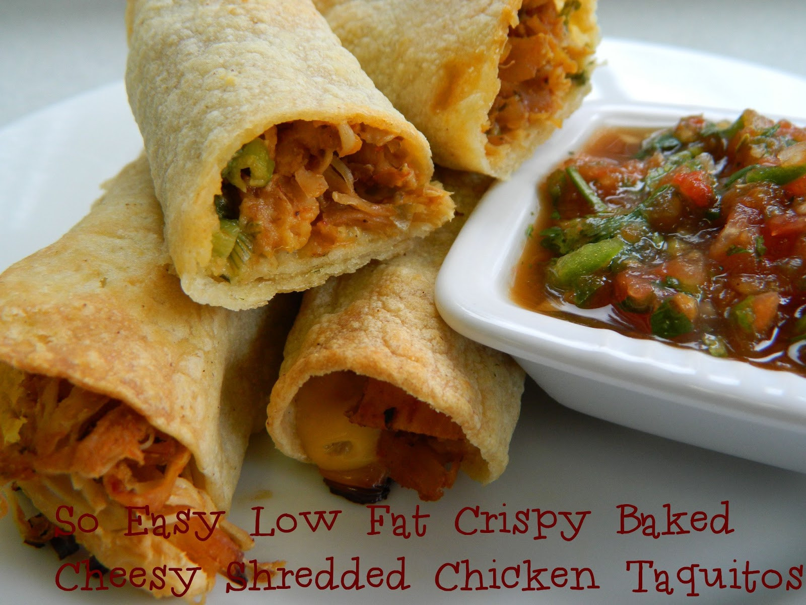 Easy Low Fat Chicken Recipes  My Favorite Things So Easy Low Fat Cheesy Shredded
