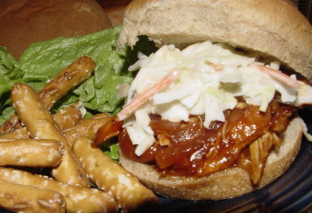 Easy Low Fat Chicken Recipes  Easy Crock Pot BBQ Chicken Low Fat Recipe Food
