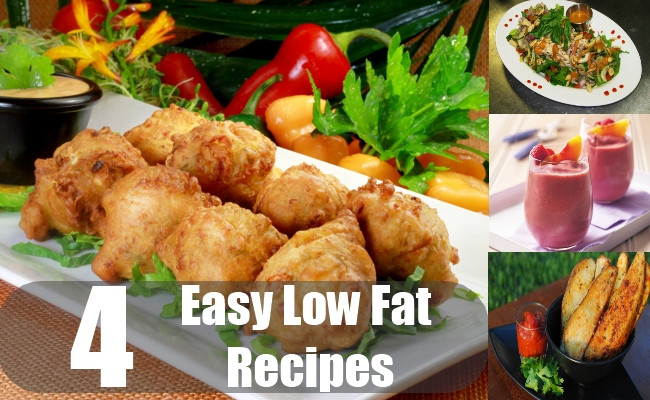 Easy Low Fat Recipes  Low fat easy