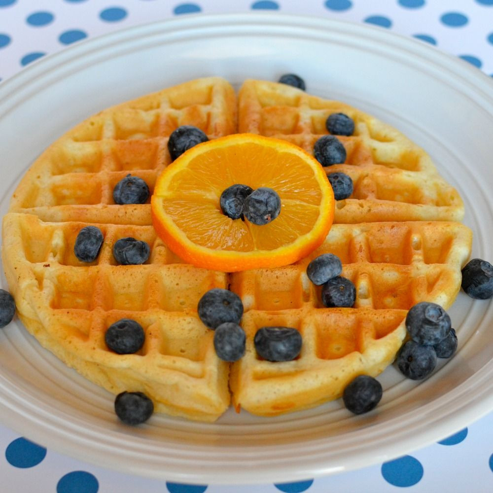 Easy Low Fat Recipes  Easy low fat waffles recipe All recipes UK