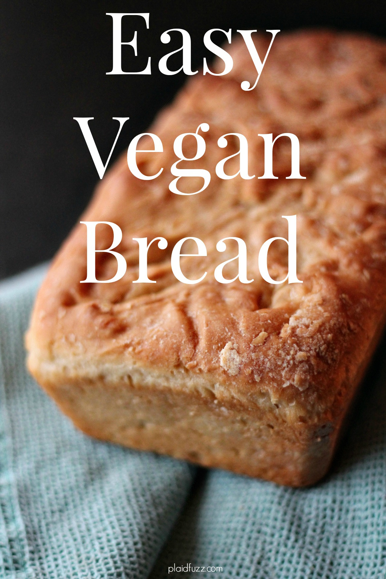 Easy Vegan Bread  Easy vegan Bread The House of Plaidfuzz