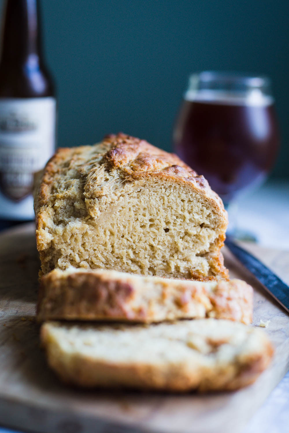 Easy Vegan Bread  Simple Vegan Beer Bread