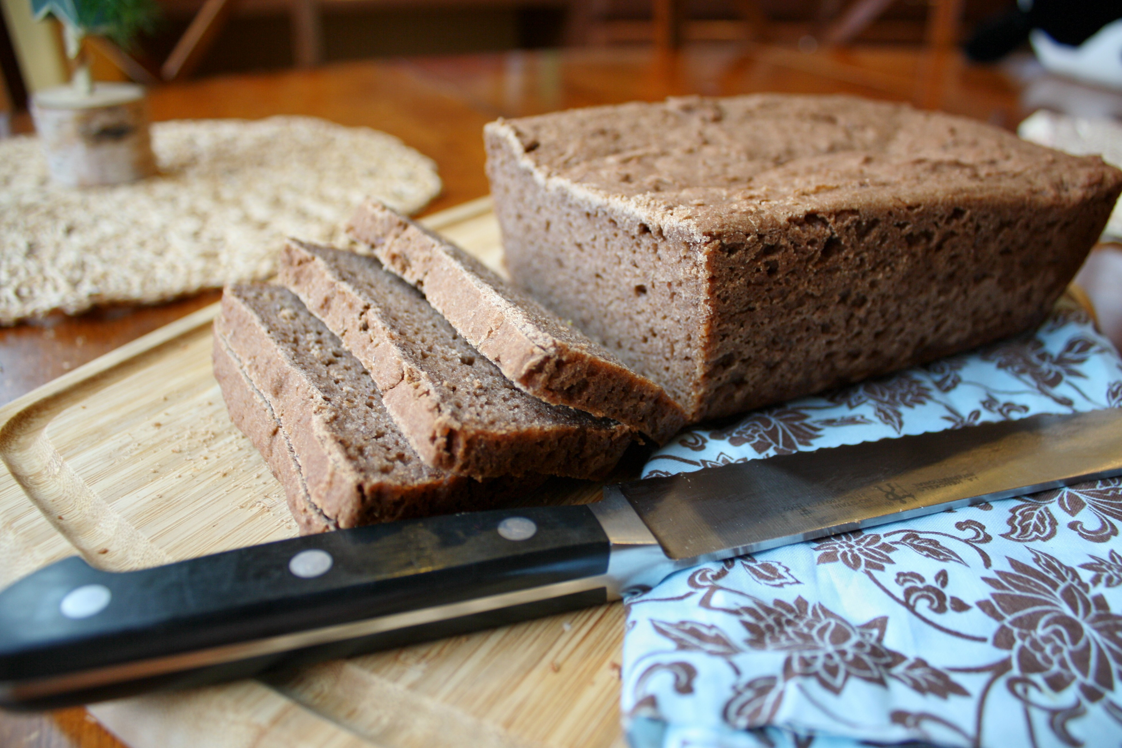 Easy Vegan Bread  Easy Vegan Gluten Free Teff Bread Tessa the Domestic Diva