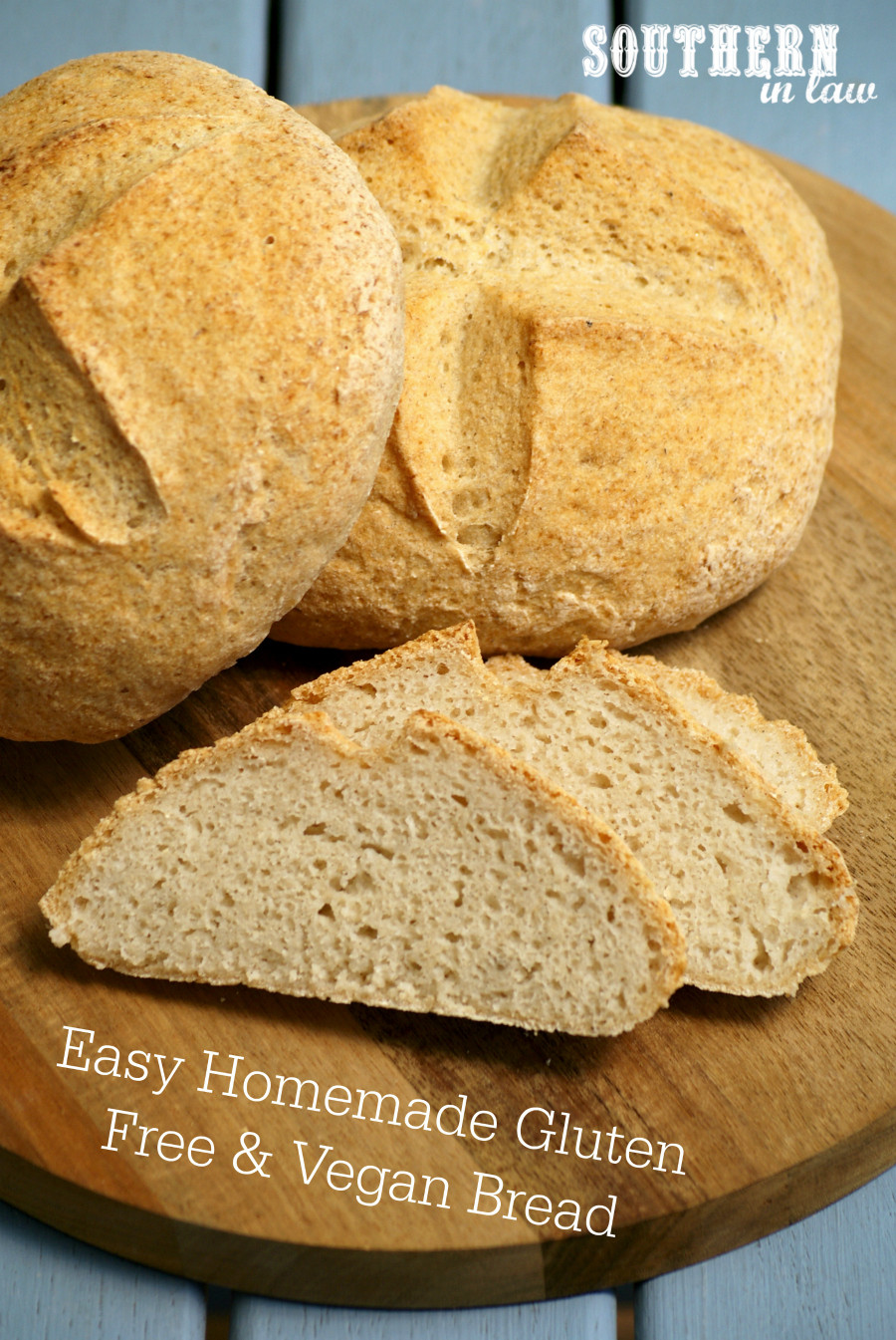 Easy Vegan Bread  Southern In Law Recipe Easy Homemade Gluten Free and