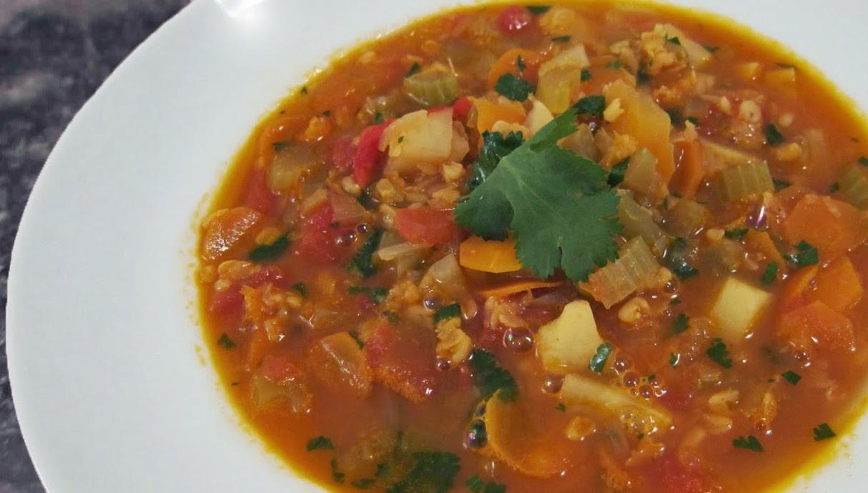 Easy Vegan Crock Pot Recipes  Culinary Physics Easy Ve arian Lentil Soup Recipe