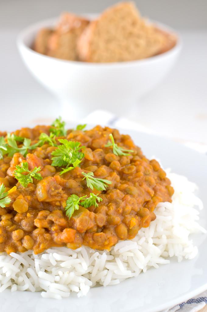 Easy Vegan Lentil Recipes  Vegan Lentil Curry
