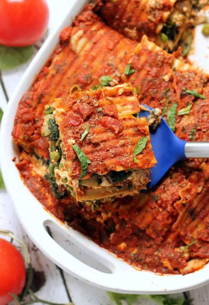 Easy Vegan Recipes  The Best Easy Vegan Lasagna Hummusapien