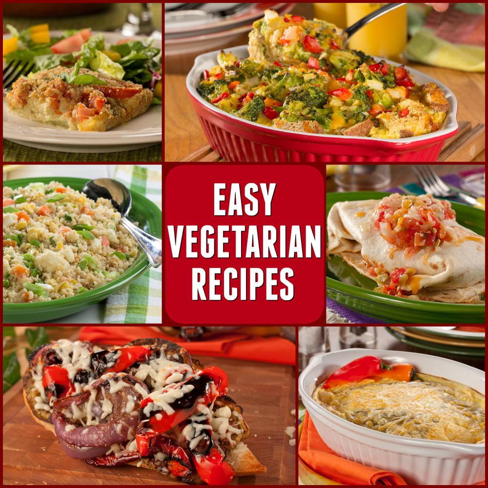 Easy Vegetarian Dinner Recipes For Family  10 Easy Ve arian Recipes