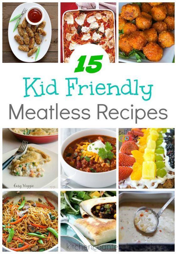 Easy Vegetarian Dinner Recipes For Family  15 Kid Friendly Meatless Recipes