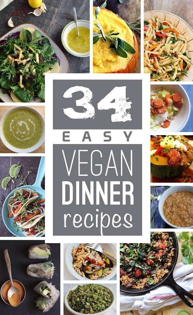 Easy Vegetarian Dinner Recipes For Family  Easy Vegan Dinner Recipes Family Gone Healthy