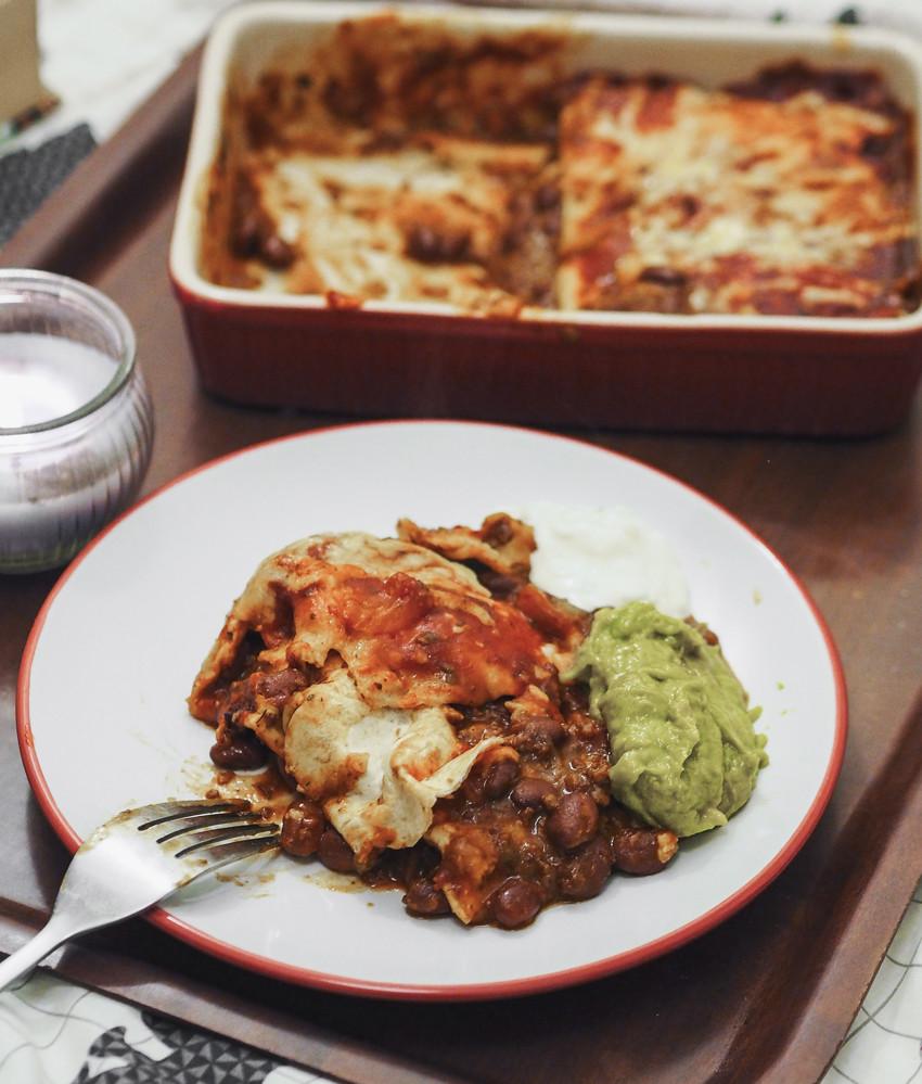 Easy Vegetarian Enchiladas  QUICK AND EASY VEGETARIAN ENCHILADAS