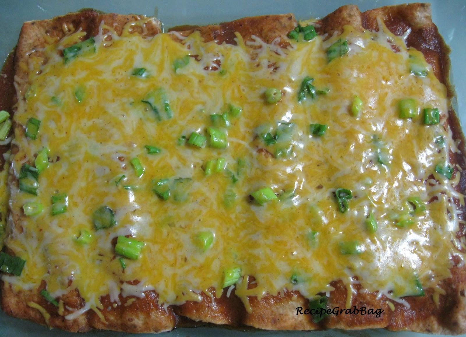 Easy Vegetarian Enchiladas  RecipeGrabBag Quick and Easy Ve arian Enchiladas