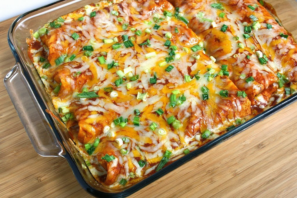 Easy Vegetarian Enchiladas  The Garden Grazer 30 Ve arian Enchilada Recipes 7