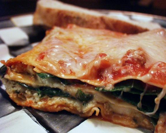 Easy Vegetarian Lasagna  Quick And Easy Ve arian Lasagna Recipe Food
