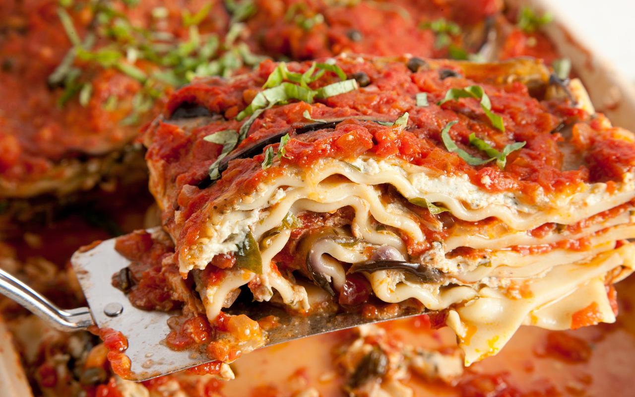 Easy Vegetarian Lasagna  Vegan Lasagna Recipe Chowhound