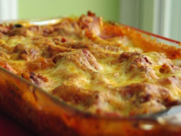 Easy Vegetarian Lasagna  Easy Ve able Lasagna Recipe Food