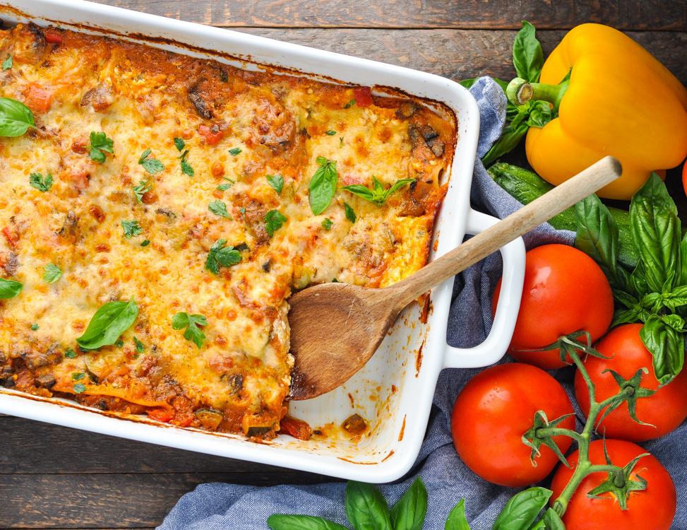 Easy Vegetarian Lasagna  Quick and Easy Ve able Lasagna The Seasoned Mom