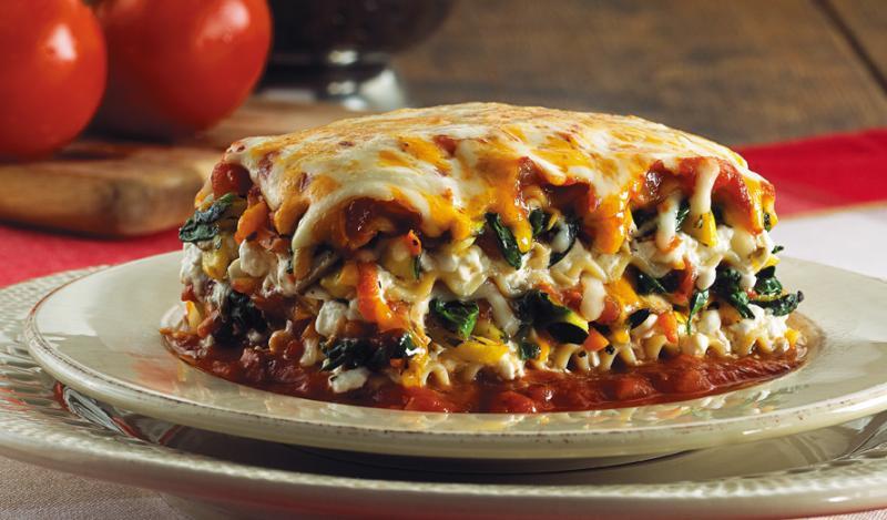 Easy Vegetarian Lasagna  Ve arian Lasagna Recipe — Dishmaps