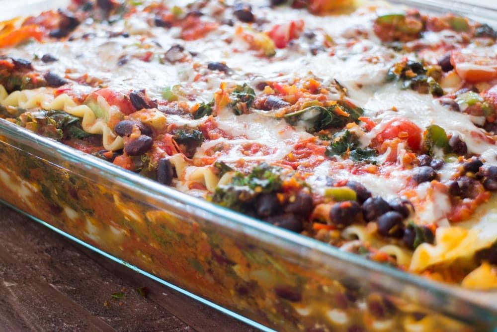 Easy Vegetarian Mexican Recipes  Mexican Ve arian Lasagna Brooklyn Farm Girl