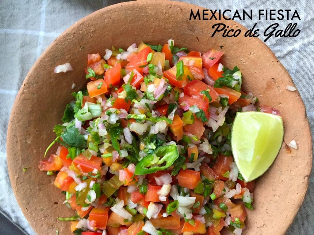 Easy Vegetarian Mexican Recipes  Pico de Gallo Ve arian Mexican Recipes
