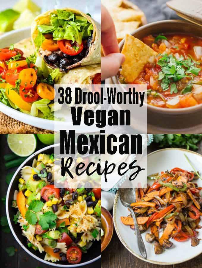 Easy Vegetarian Mexican Recipes  vegan mexican recipes