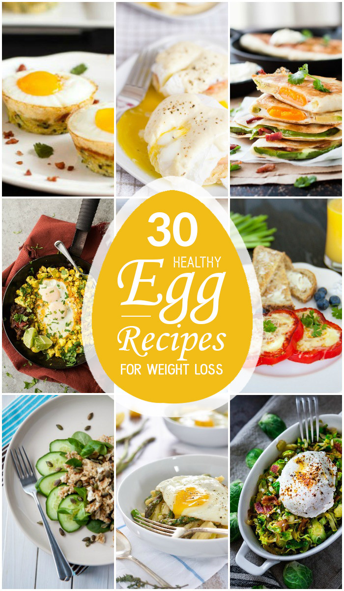 Egg Diet Recipes For Weight Loss  30 Healthy Egg Recipes for Weight Loss
