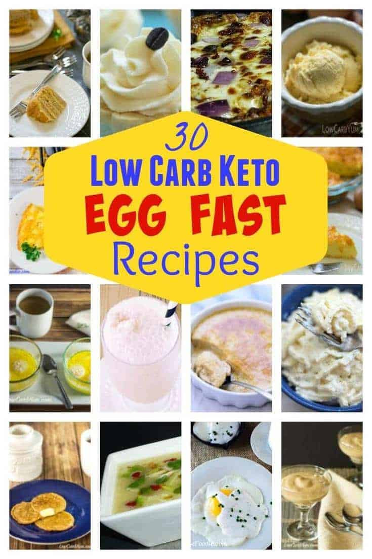 Egg Diet Recipes For Weight Loss  Egg Fast Diet Plan Recipes for Weight Loss