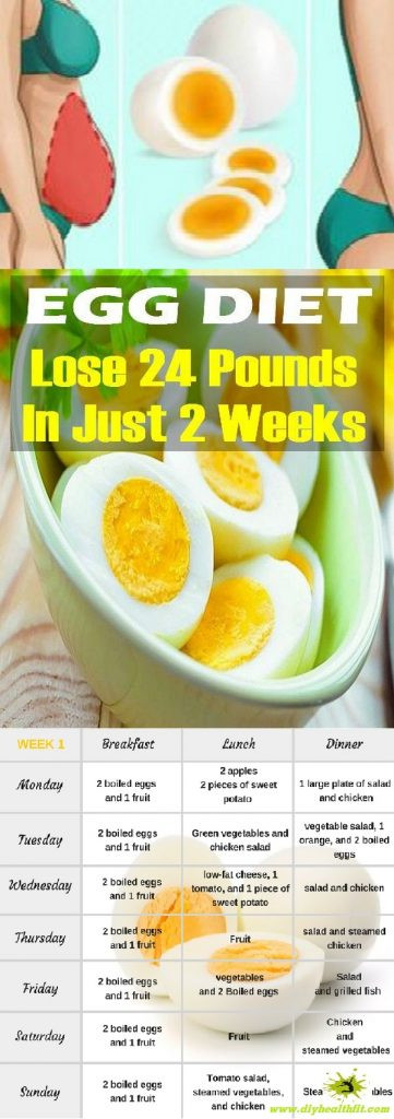 Egg Diet Recipes For Weight Loss  THE BOILED EGG DIET – LOSE 24 POUNDS IN JUST 2 WEEKS DIY