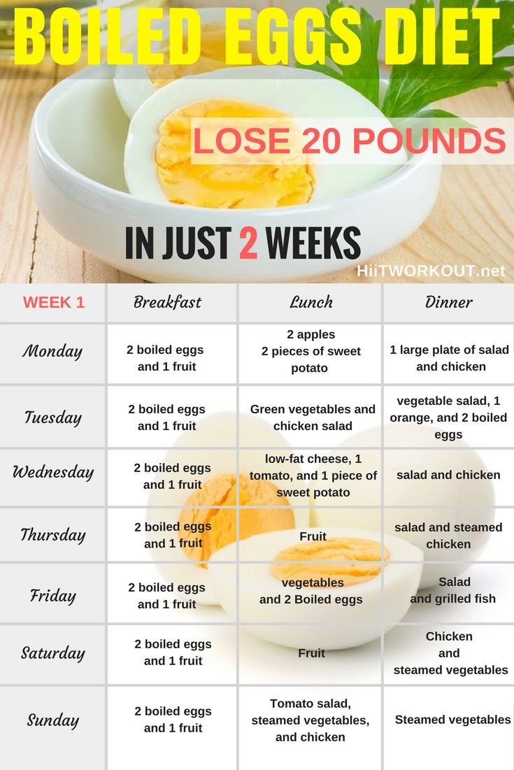 Egg Diet Recipes For Weight Loss  The Boiled Egg Diet Can Help You Lose up to 24 pounds in