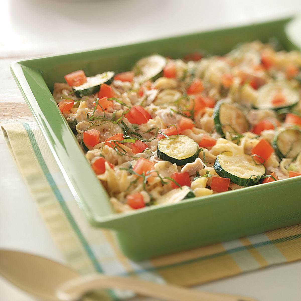Egg Noodle Casserole Recipes Vegetarian  Veggie Tuna Noodle Casserole Recipe