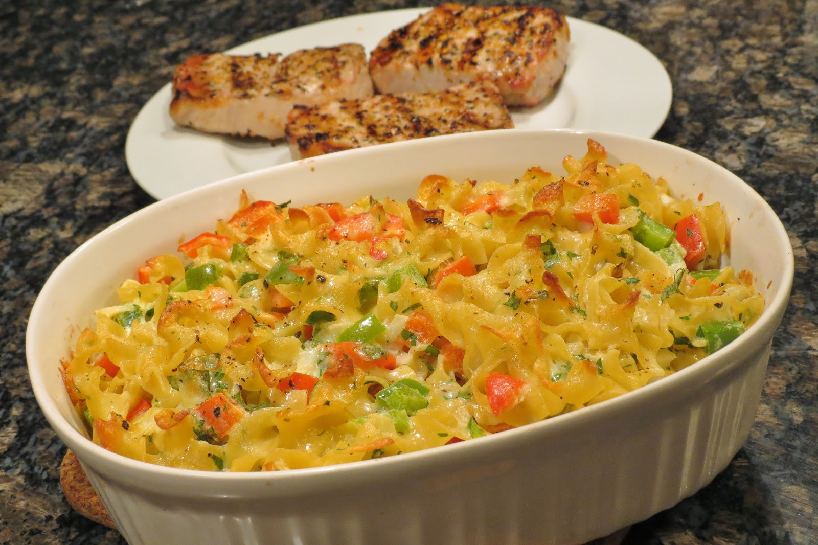 Egg Noodle Casserole Recipes Vegetarian  Dinner with the Welches Egg Noodle and Ve able Casserole