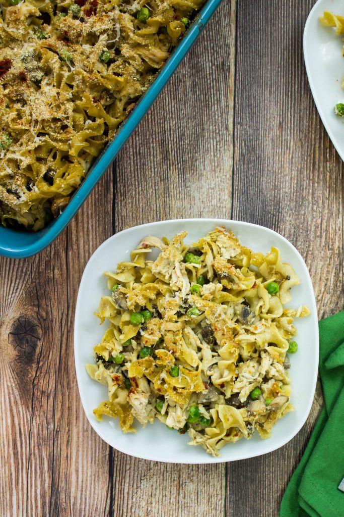 Egg Noodle Casserole Recipes Vegetarian  Turkey Noodle Casserole