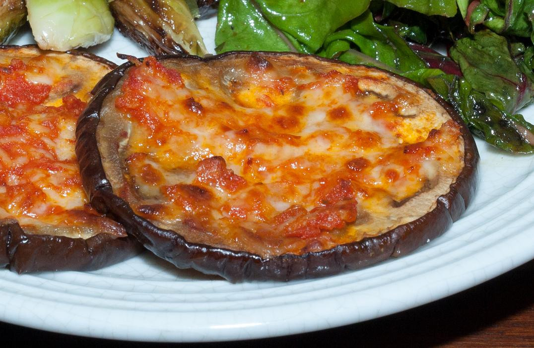 Eggplant Low Carb Recipes  Recipe Eggplant Pizzas Low Carb Kitty
