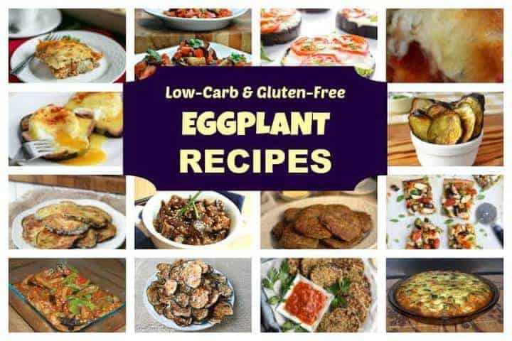Eggplant Low Carb Recipes  Low Carb Eggplant Recipes Collection for Keto Diet