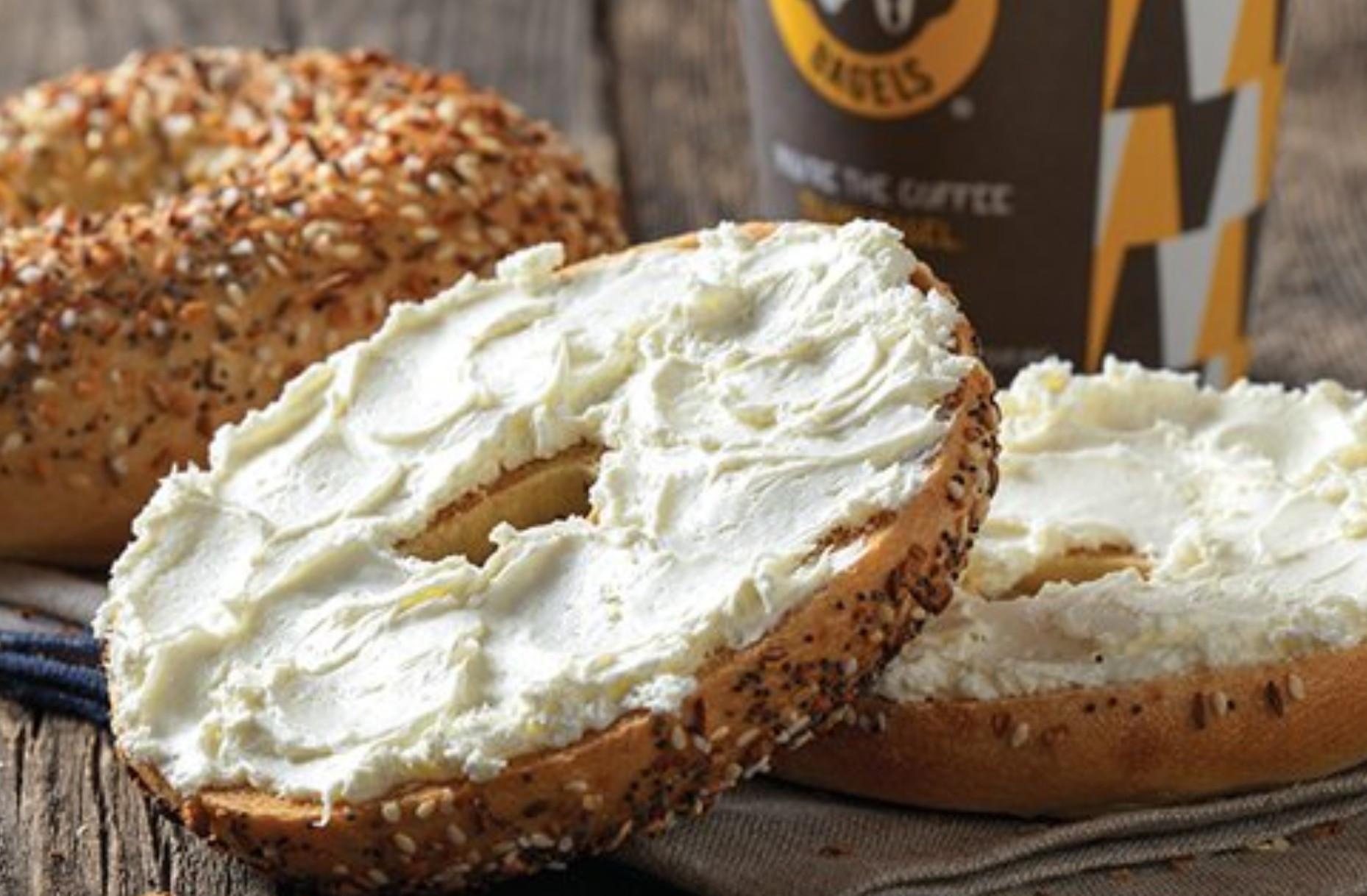 Einstein Bros Bagels Vegan  Biggest Bagel Chain In US Adds Vegan Cream Cheese In