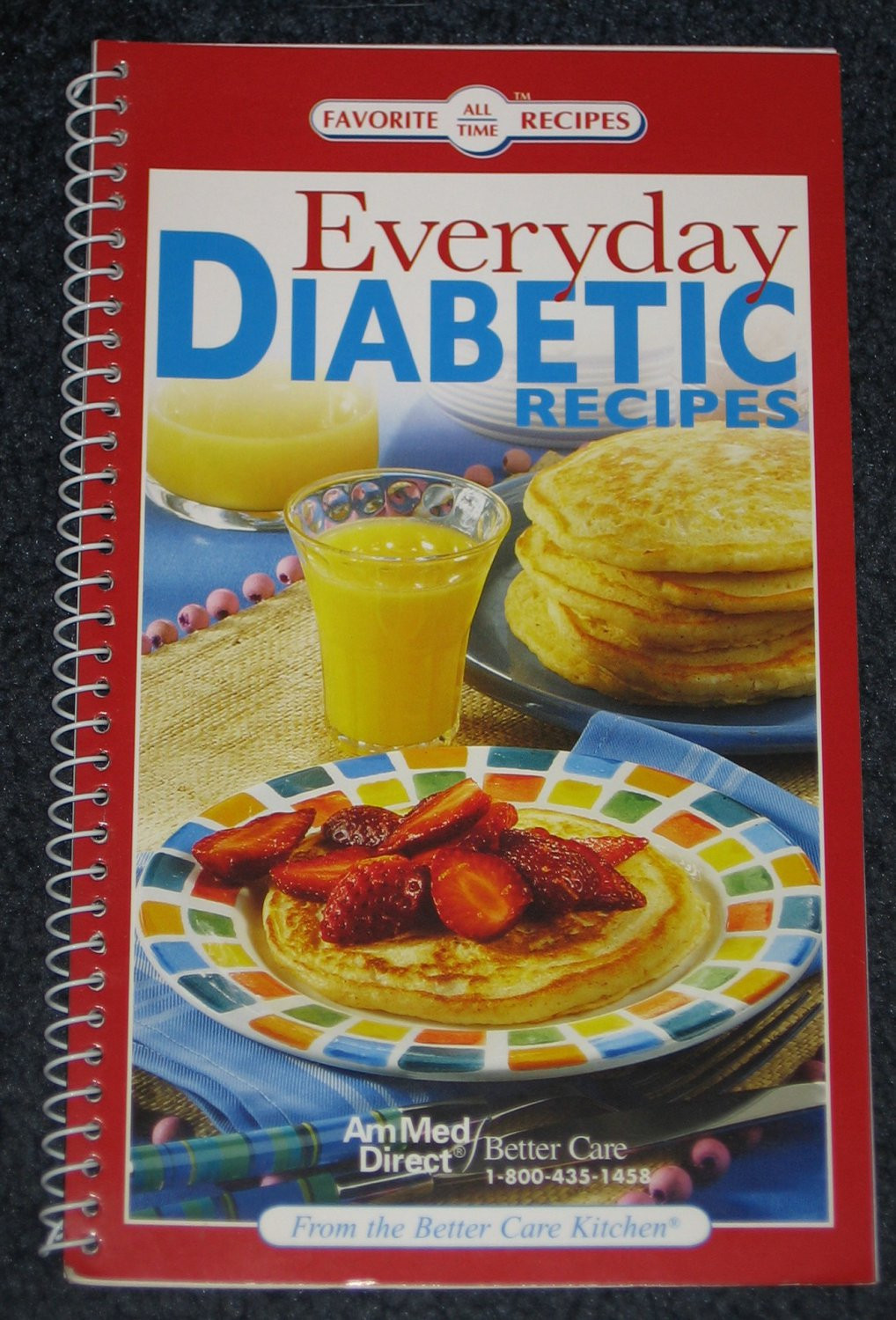 Everyday Diabetic Recipes  Everyday Diabetic Recipes Cookbook Favorite All Time