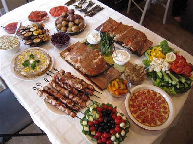 Food For Easter Dinner  Ukrainian Easter Dinner Ukrainian Easter Bread Paska