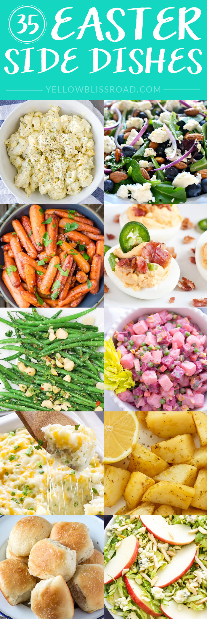 Food For Easter Dinner  Easter Side Dishes More than 50 of the Best Sides for