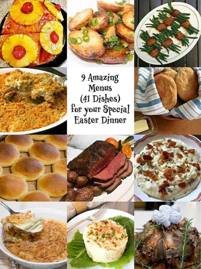 Food For Easter Dinner  9 Amazing Menus for Your Special Easter Dinner The Pudge