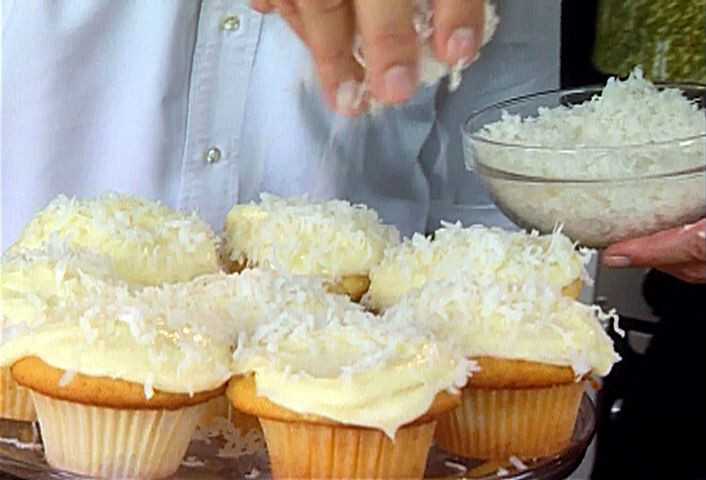 Food Network Easter Dinner  Coconut Cupcakes Recipe
